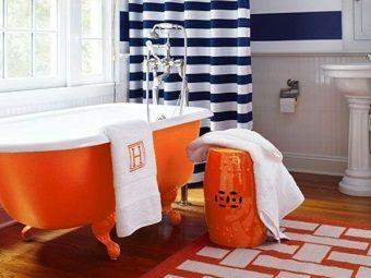 Ванна оранжевого кольору