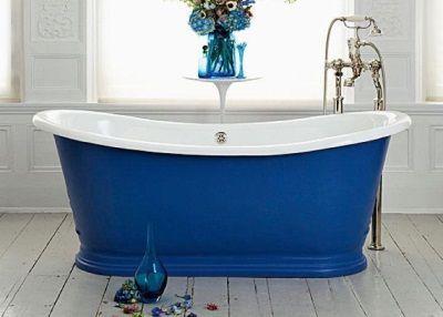 синя ванна