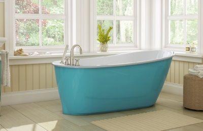 Кольорові ванни зі сталі