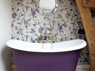 фіолетова ванна
