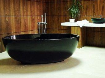 Ванна чорного кольору