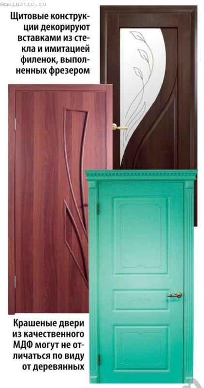 фарбовані двері