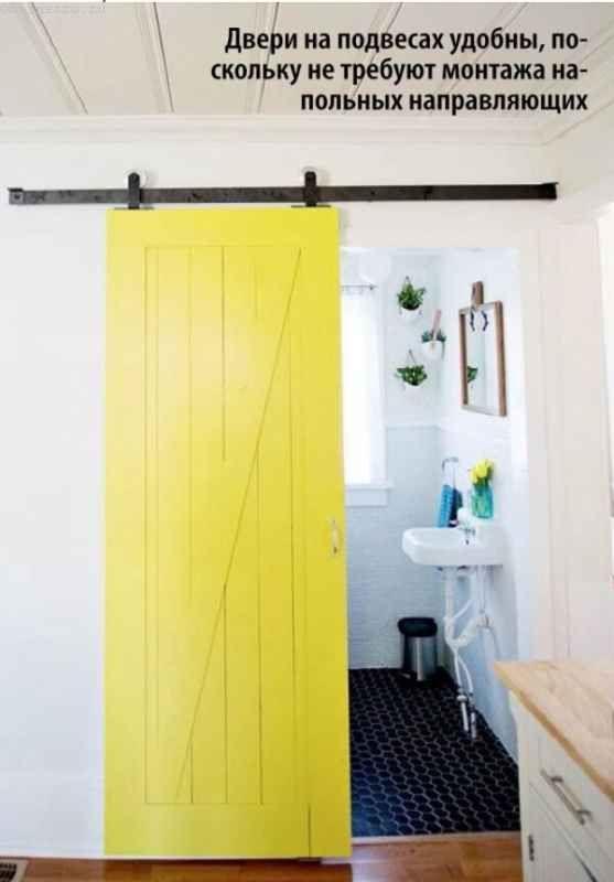 Фарбовані двері дуб