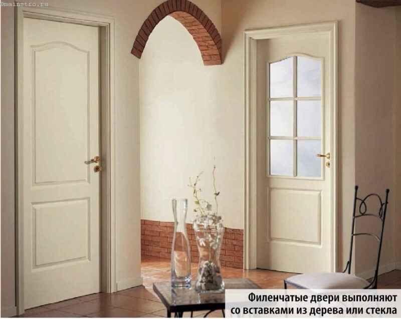 світлі двері в інтер`єрі квартири