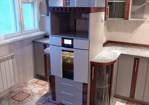 Ідеї дизайну кухні з балконом: нові рішення