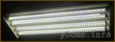Як переробити люмінесцентний светільнікв світлодіодну лампу своїми руками
