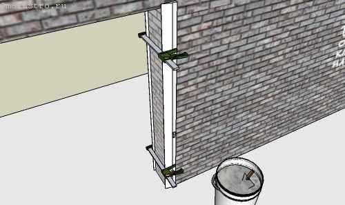 Як штукатурити дверний укіс? Фото.
