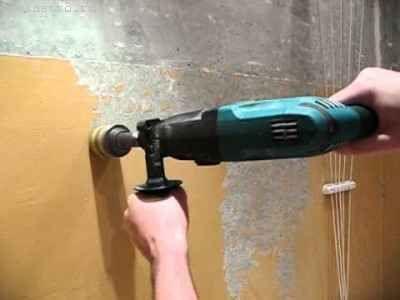 Як зняти фарбу зі стін