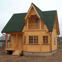 Як будувати будинок з бруса