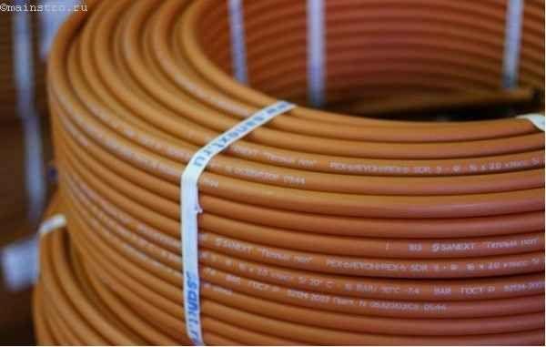 Як вибрати труби для теплої підлоги