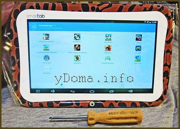 Фото відремонтованого планшета