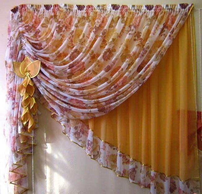 Красива штора на кухню - головний елемент інтер`єру