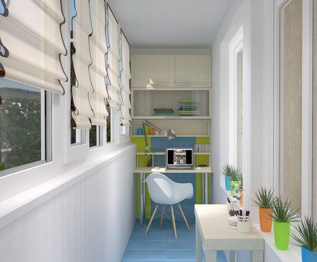 Меблі для балкону і лоджії - ідеї та інструкції