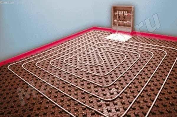 Монтаж підлогового опалення