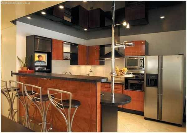 Натяжні стелі для кухні з ПВХ плівки