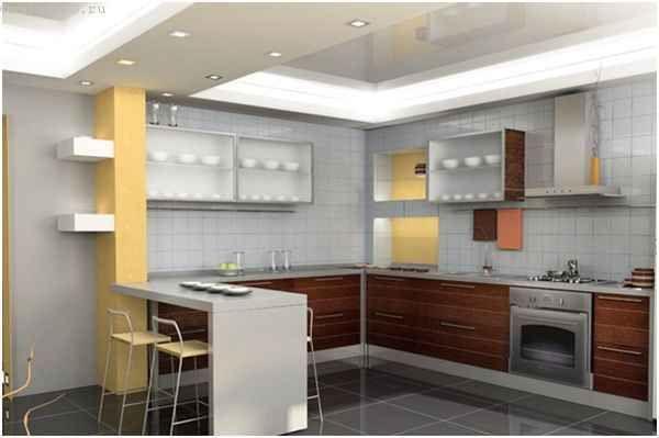 Плівкові натяжні стелі для кухні
