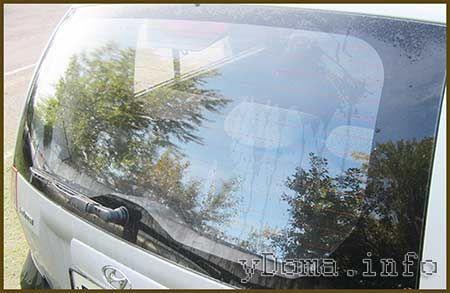 Обігрівач стекол автомобіля - ремонт своїми руками