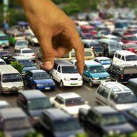 Устаткування дворової парковки
