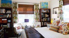 Оригінальність бамбукових штор в інтер`єрі квартири