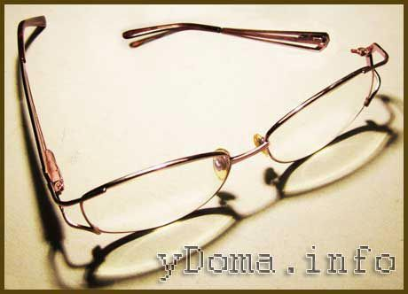 Ремонт оправи окулярів своїми руками