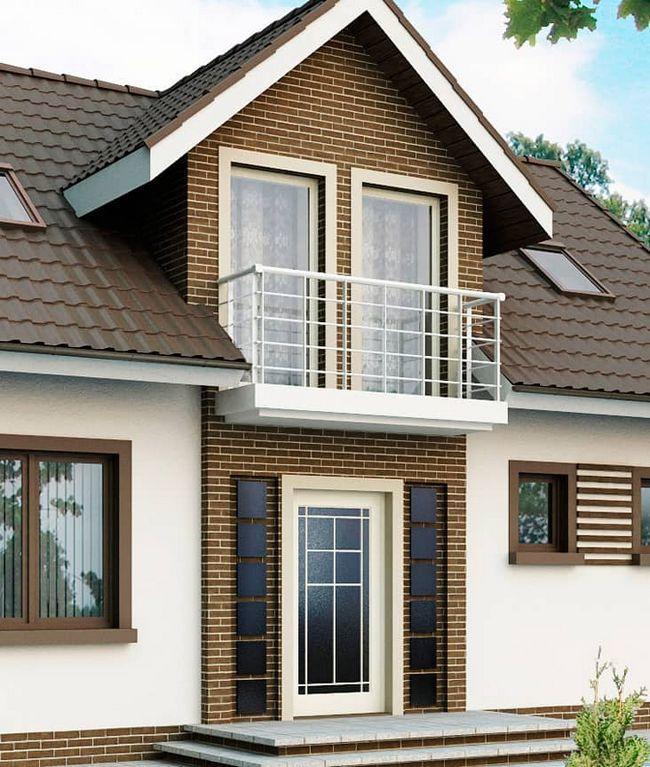Будуємо балкон в приватному будинку: фото-ідеї, плюси і мінуси