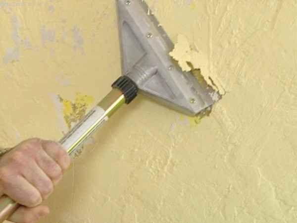 Видалення олійної фарби зі стін, а також дерев`яних елементів: способи, рекомендації, поради