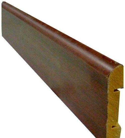 Планка з деревної плити середньої жорсткості, ламінована меламіном.