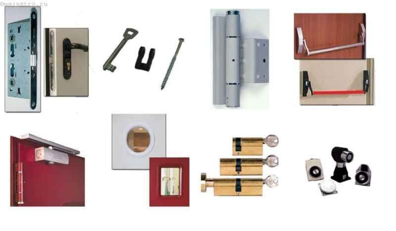 Установка протипожежних дверей - покрокова інструкція з фото