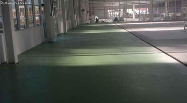 Пристрій промислових підлог: який матеріал краще вибрати і порядок робіт при бетонуванні поверхні з укріплювальними сумішами