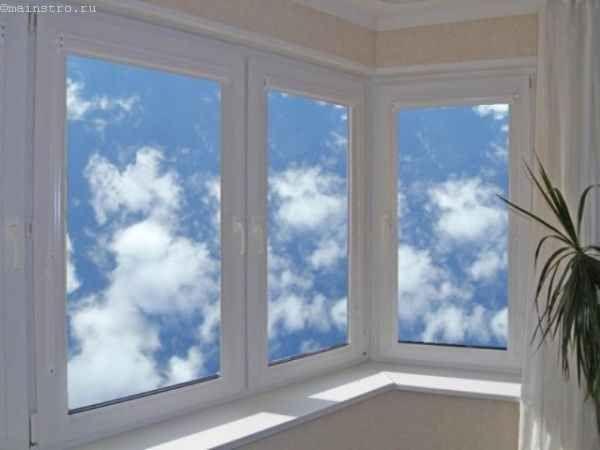 Фото скління балконів або лоджій орного типу