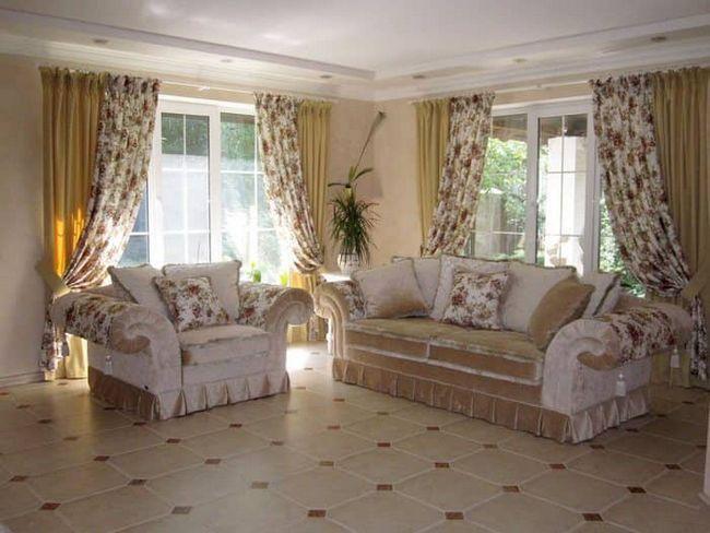Висловлюємо стиль прованс в шторах: як підібрати в будь-який інтер`єр