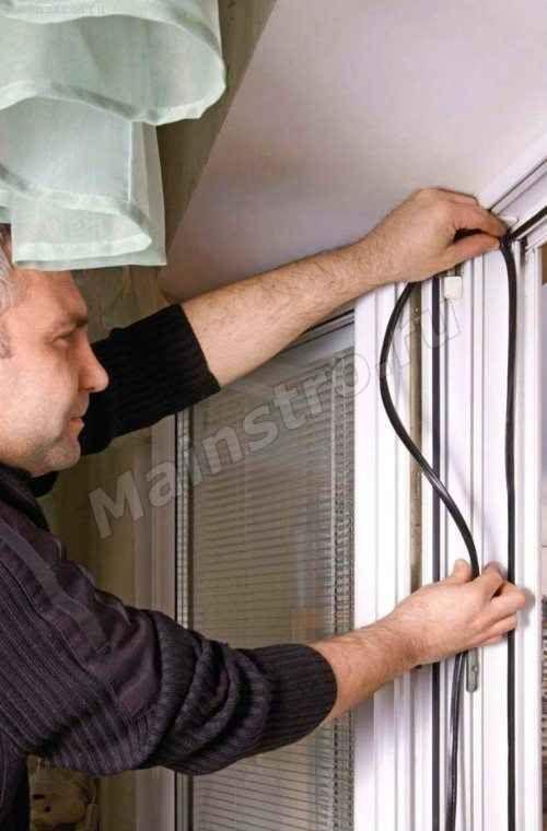 Заміна ущільнювача на пластикових вікнах
